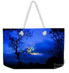 Midnight Clouds Weekender Tote Bag
