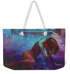 Weekender Tote Bag featuring the digital art Midnight Dreams  by Riana Van Staden