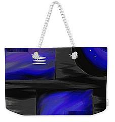 Midnight Weekender Tote Bag by Ely Arsha