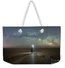 Midnight Explorer At Assateague Island Weekender Tote Bag