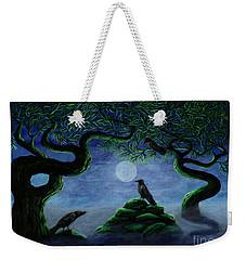 Midnight Green Weekender Tote Bag