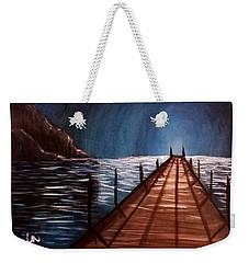 Midnight Heaven Weekender Tote Bag