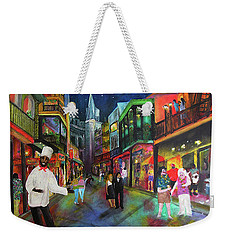 Midnight In New Orleans Weekender Tote Bag