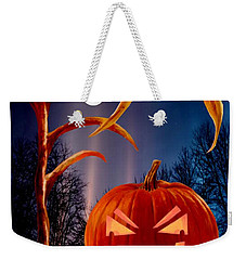 Midnight Jack-o-lantern Weekender Tote Bag