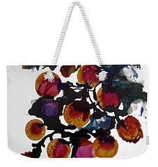 Midnight Magiic Bloom-1 Weekender Tote Bag by Alika Kumar