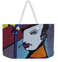 Midnight Mime Weekender Tote Bag