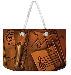 Midnight Music Weekender Tote Bag