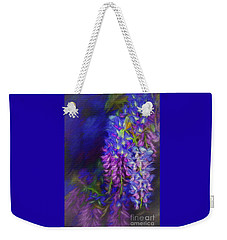 Weekender Tote Bag featuring the photograph Midnight Oil By Kaye Menner by Kaye Menner
