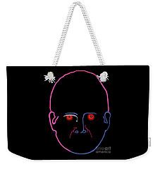 Weekender Tote Bag featuring the painting Midnight Rage by Marian Cates
