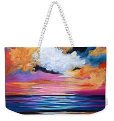 Midnight Sky Weekender Tote Bag