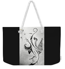 Midnight Study 1 Weekender Tote Bag