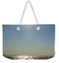 Midnight Sun Over The Arctic Weekender Tote Bag