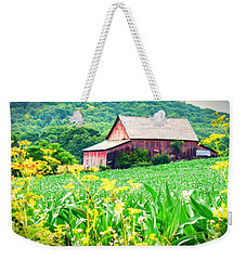 Weekender Tote Bag featuring the photograph Midsummer  by Kendall McKernon
