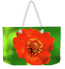 Weekender Tote Bag featuring the photograph Midsummer.  by Leif Sohlman