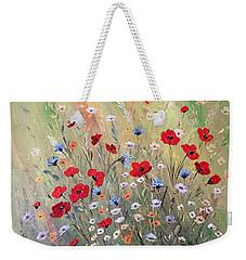 Midsummer Poppies Weekender Tote Bag