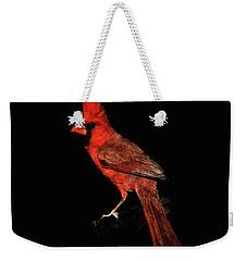 Midwestern Cardinal Weekender Tote Bag