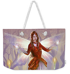Midwinter Blessings Weekender Tote Bag
