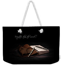 Mightier Than The Sword Weekender Tote Bag