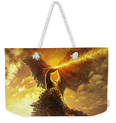 Mighty Dragon Weekender Tote Bag