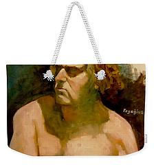 Mike. Weekender Tote Bag by Ray Agius