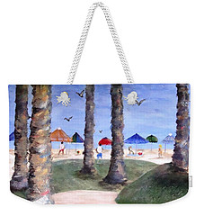 Mike's Hermosa Beach Weekender Tote Bag by Jamie Frier