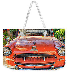 Miki's Car Weekender Tote Bag