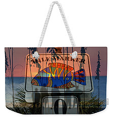 Weekender Tote Bag featuring the photograph Mile Marker 0 Sunset by David Lee Thompson
