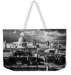 Milennium Bridge And St. Pauls, London Weekender Tote Bag