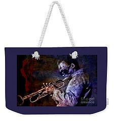 Miles Davis Jazz Legend 1969 Weekender Tote Bag