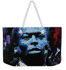 Miles Davis Weekender Tote Bag by Richard Day
