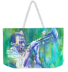 Miles Is Cool Weekender Tote Bag