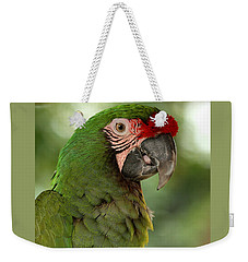 Military Macaw Weekender Tote Bag