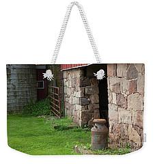 Milk Can At Stone Barn Weekender Tote Bag