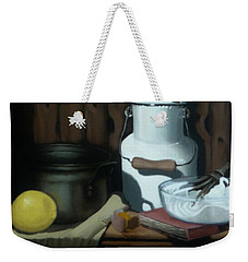 Milk Jug Meringue Weekender Tote Bag