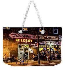 Weekender Tote Bag featuring the photograph Milkboy - 1033 by David Sutton