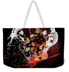 Milkshake Weekender Tote Bag