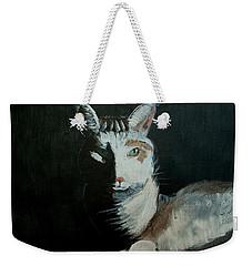 Milkshake The Cat Weekender Tote Bag