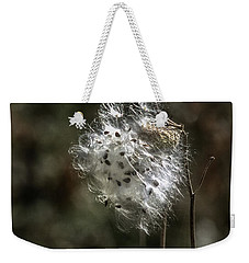 Milkweed Dried Ready To Blow In The Wind Weekender Tote Bag