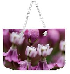 Milkweed Macro Weekender Tote Bag