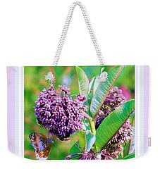 Milkweed Memories Weekender Tote Bag