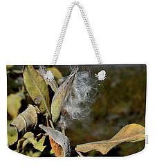 Milkweed Seeds Taking Flight Weekender Tote Bag