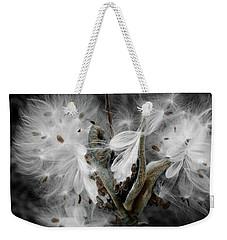 Milkweed Whisper Weekender Tote Bag
