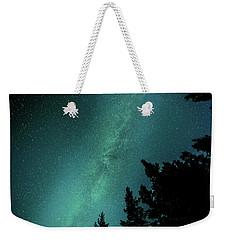 Milky Way Above The Trees Weekender Tote Bag