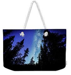 Milky Way Among The Trees Weekender Tote Bag