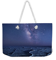 Milky Way At The Salt Flats Weekender Tote Bag