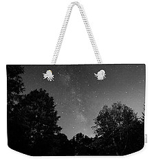 Weekender Tote Bag featuring the photograph Milky Way by Brian Jones