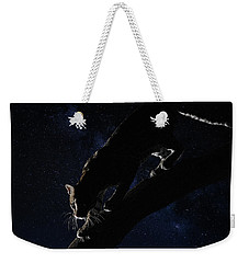 Milky Way Ocelot Weekender Tote Bag by Wade Aiken