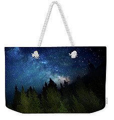 Milky Way On The Mountain Weekender Tote Bag
