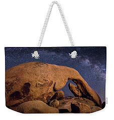 Milky Way Over Arch Rock Weekender Tote Bag