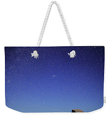 Milky Way Over Half Dome Weekender Tote Bag by Rick Berk